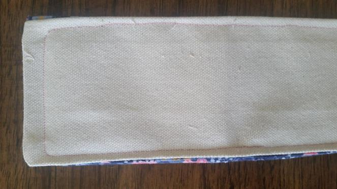 RFID wallet crappy topstitch