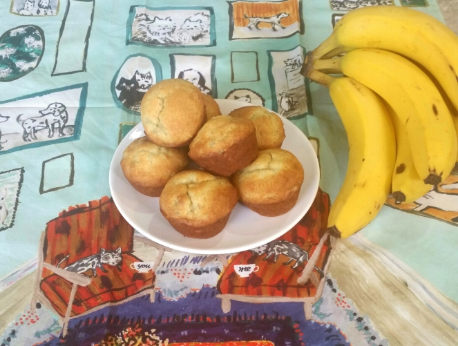World's Okayest Banana Muffins