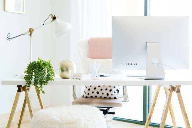 fantasy home office: easy breezy beautiful